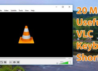 20 Most Useful VLC Keyboards Shortcuts