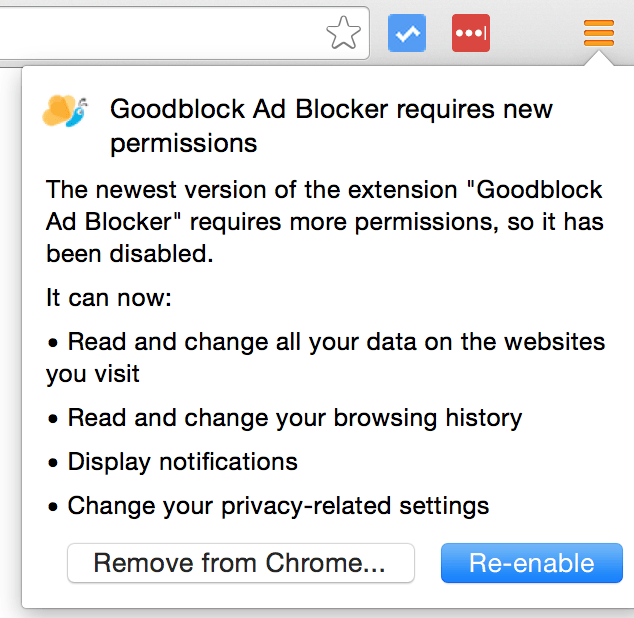 Goodblock adblocker