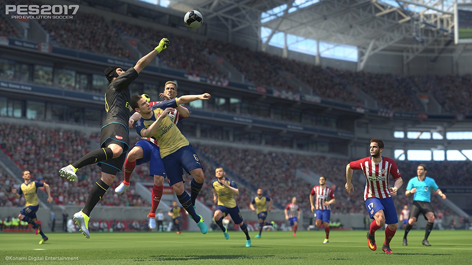 pes 2017 pro evolution gameplay screenshot