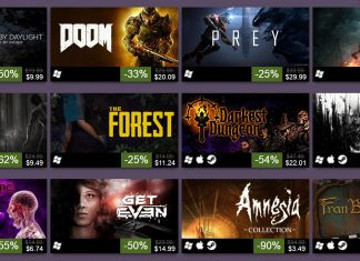 steam halloween sale 2017