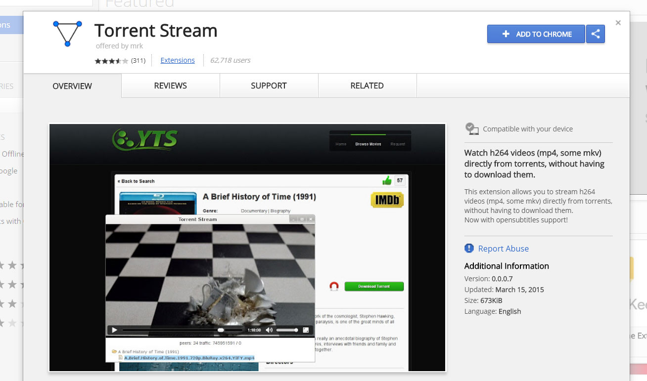 10 Free ways to Watch/Play Torrent without waiting for complete