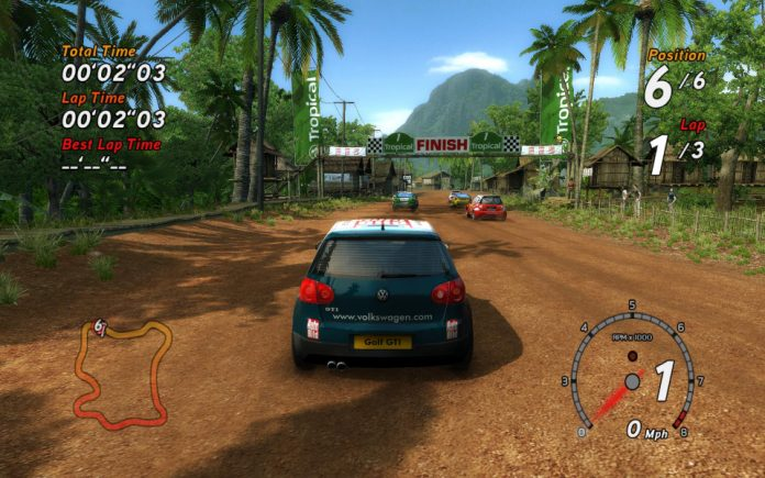 Sega Rally Revo game sc