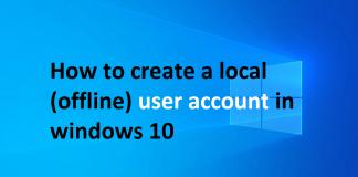 windows-10-local-user-account