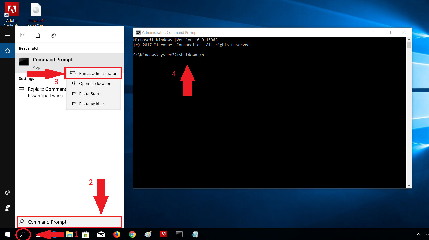 Shutdown Your Computer Without Updating Windows 10 | Core Tech World