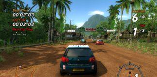 Sega Rally Revo game sc