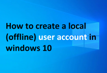windows-10-local-user-account